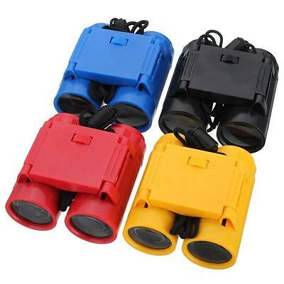 Children 2.5 x 26 Magnification Binocular Telescope with Neck Strap  Cameras #EB