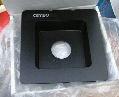 Cambo SC Monorail recessed lens board for copal 1 41.8mm hole 5x4 10x8 30mm deep