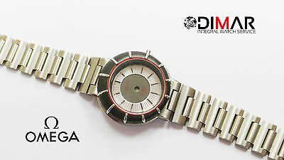 BOX ORIGINAL OMEGA SEAMASTER 596.0066 WITH SPHERE, GLASS AND ARMIS bezel grey