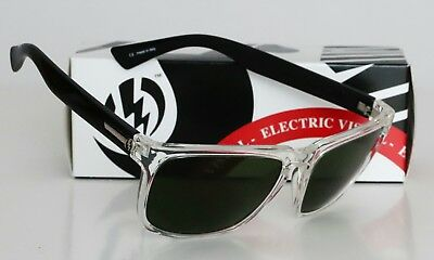 7edf8a0910 NEW ELECTRIC KNOXVILLE XL SUNGLASSES Black Crystal frame   Grey lens ...