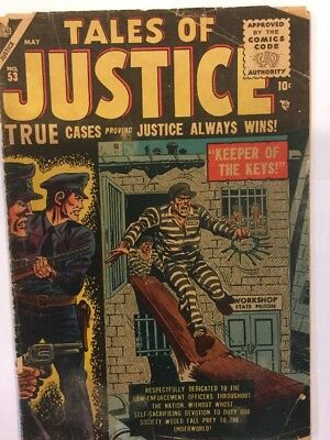 Tales of Justice # 53, May 1955