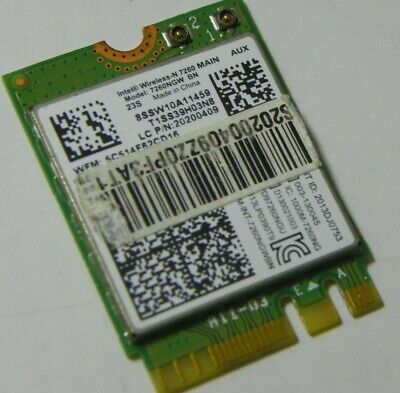 New OEM Dell 9VVTM Intel Dual Band Wireless-N 7260 7260HMW AN agn BT 4.0 PCIe