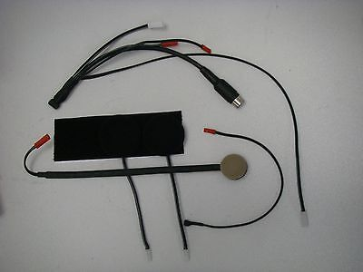 New 7 Pin Headset Kit For Autocom Super Pro Rider Complete With Bgns