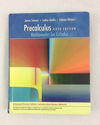 Study guide for stewartredlinwatsons precalculus mathematics for precalculus fifth edition mathematics for calculus by stewart redlin watson fandeluxe Image collections