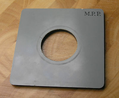 genuine MPP mk8 VIII lens board panel with compur 1 hole 39.1mm