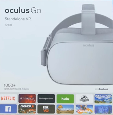 NEW Oculus Go Standalone, All-In-One VR Headset 32GB
