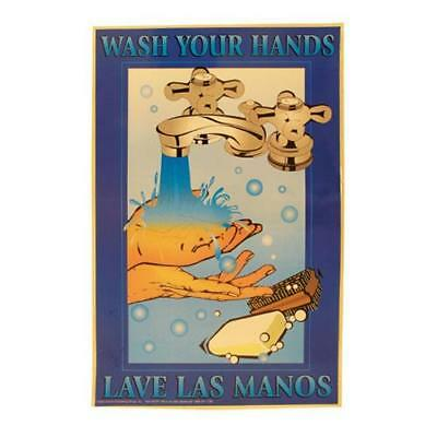 Commercial - Wash Your Hands Food Safety Poster