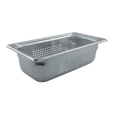 Vollrath - 90343 - Third Size 4 in Deep Perforated Steam Table Pan