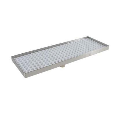 "Infra - DT5515TH - 15"" x 5 1/2"" x 3/4"" Countertop Drain Tray"