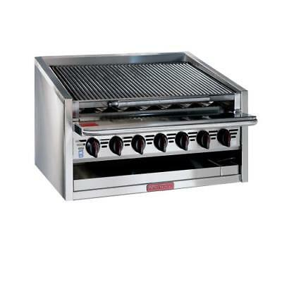 "MagiKitch'n - APM-RMB-636 - 36"" Low Profile Gas Charbroiler"