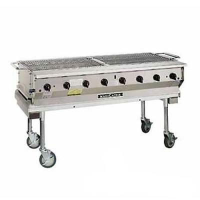 MagiKitch'n - NPG-60-SS - 60 in Magicater Portable Outdoor Gas Charbroiler