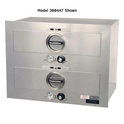 Toastmaster - 3B84AT09 - 2 Drawer 120V Built-In Warmer w/2 Thermostats
