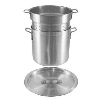 Crestware - PASTA20 - 20 qt Aluminum Blanching Pot Set
