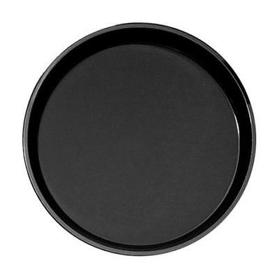Cambro - 1800CT110 - 18 in Round Black Camtread® Serving Tray