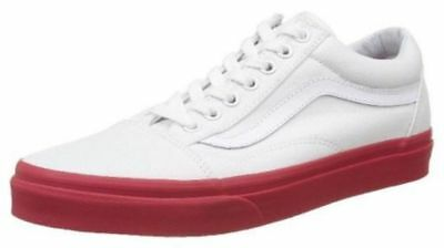 0854e1a4d1 VANS OLD SKOOL Trainers White Golf Wang Pink Gum Sole UK8.5 Chima ...
