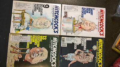 Alfred Hitchcock's Mystery Magazines lot 1980 used oop lot (4)