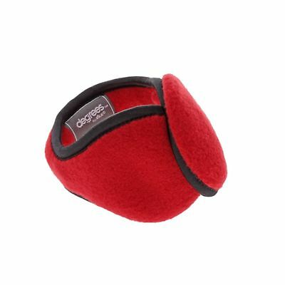 Degrees by 180s Youth Discovery Ear Warmers Red NEW Free Ship