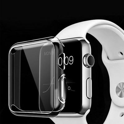 For Apple Watch Series1 2 3 Ultra Thin Clear Protective Case Cover 38mm/42mm
