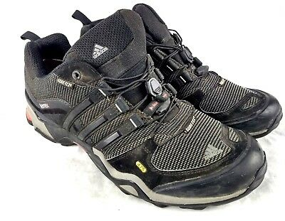 separation shoes f5411 1a5da ADIDAS TERREX FAST X GTX 475 Mens US 10.5 Eu 45 Black Hiking Trail Shoes  144-3