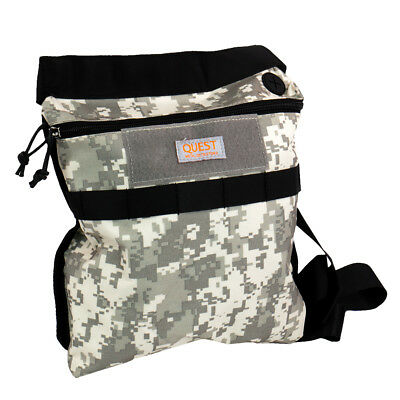 Quest Camo Digger's Finds Pouch - for Gold / Metal Detector