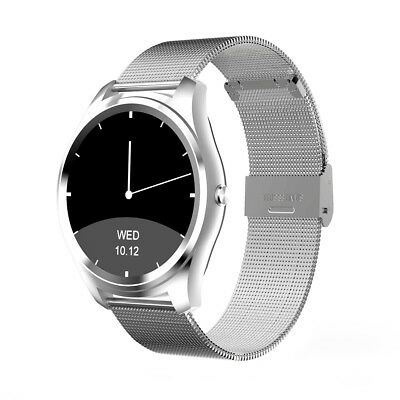 Diggro DI03 Siri Voice Bluetooth Waterproof Smart Watch For Android IOS Sliver