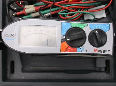 MEGGER MFT1553 Bluetooth Multi Function Test Meter/CALIBRATED