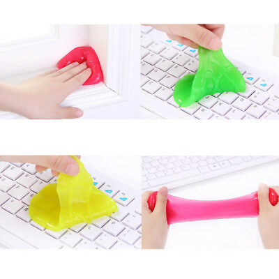 Keyboard Gel Cleaner Dust Germ Clean Cyber Putty Desk Computer Laptop Phone Car