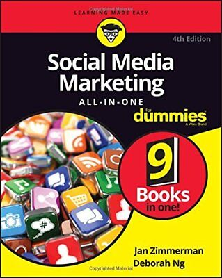 Social Media Marketing All-in-One For Dummies Ebook ( PDF ) Read on PC/Mobile/Ta