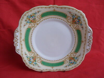Crown Staffordshire, 15645 Floral Design - Serving Plate or Cake Plate