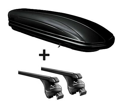 Roof Box vdpmaa320l + Roof Rails Quick Edition Rail Mini Countryman from 10