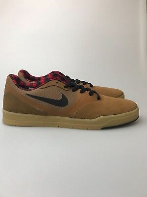 d291691c5ad88e Mens Nike SB Paul Rodriguez 9 CS Ale Brown Black Red 749555-206  Skateboarding