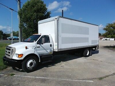 2007 Ford F-650 ~ 24Ft Box Truck ~ Lift Gate ~ Diesel ~ Automatic ~ 153K Miles