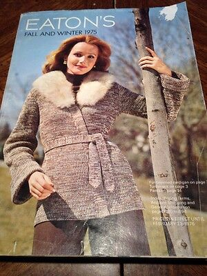 1975 Eatons Fall And Winter Vintage Catalog