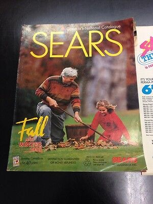 1993 Simpson Sears Fall And Winter Catalog 40 Year Anniversary With Insert