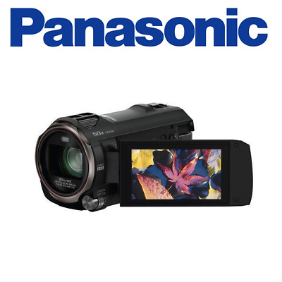 Panasonic HC-V770K HD Camcorder with Wireless Smartphone Twin Video Capture
