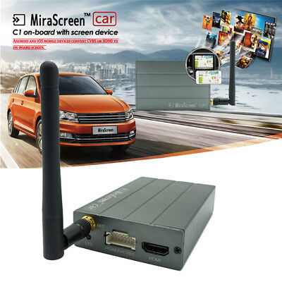 Car WiFi Display Mirror Link Box Adapter MiraScreen DLNA Airplay for Android iOS