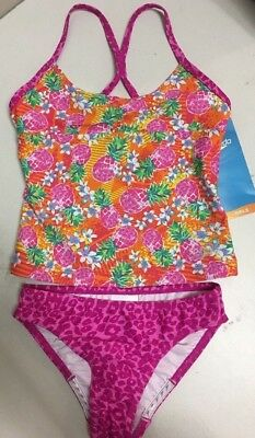 81827143a1fe9 TOMMY BAHAMA (DILLARDS) Girls 2 Piece Swim Suit Size 7 NWT Blue ...
