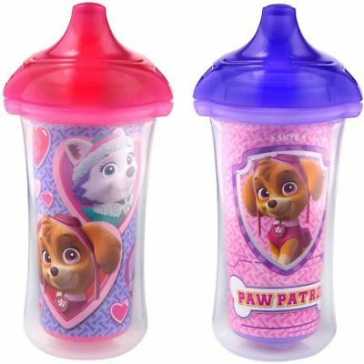 Munchkin Click Lock Insulated Hard Spout Sippy Cup - Paw Patrol, 2 pack W