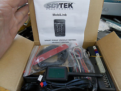 ScyTek MobiLink 5000 Smartphone Integration Remote Start/Keyless Entry Car Alarm