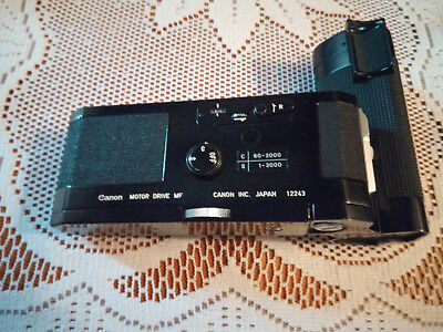 CANON F1 F1n motor drive (excellent condition)
