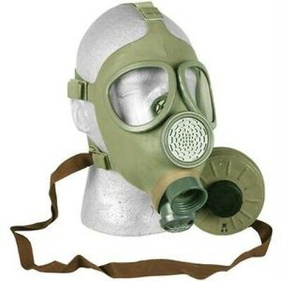 New Czech Army CM4 Gas Mask and NATO 40mm Filter - Military Surplus ICBM's NBC