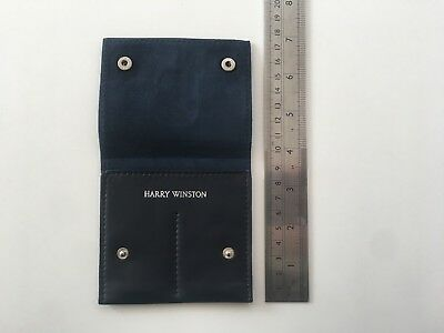 Harry Winston Earrings Leather Pouch