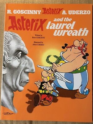 Asterix And The Laurel Wreath  Vg+/ex+ Paperback