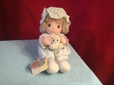 "Precious Moments Peri Musical Doll Plays ""My Favorite Things"""