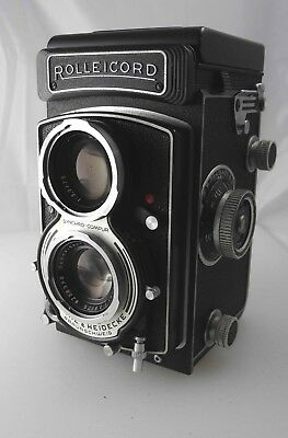 Rolleicord  Vb TLR Camera with Leather Case