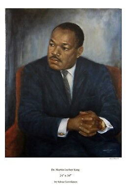 """artwork reproduction """"Portrait of Martin Luther King"""""""