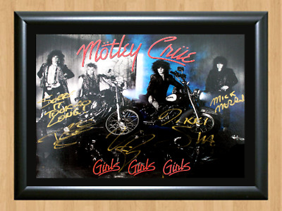Mötley Crüe Tommy Lee Signed Autographed A4 Photo Print Poster Memorabilia cd
