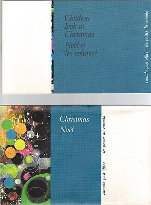 """Canada 1970 Thematic Collection #4 'children Look At Christmas"""" With Envelope"""