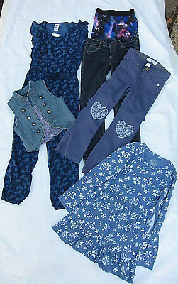 Girls Clothing Bundle Lot  Bardot Jr, H&M, Pumpkin Patch..Size 7..Some NEW.