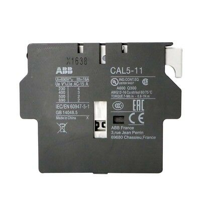 H● ABB CAL5-11 Auxiliary Contact Block